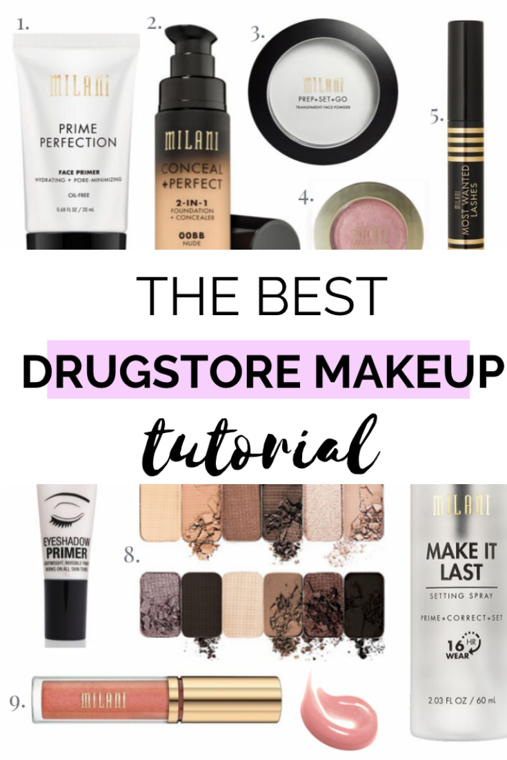 DRUGSTORE MAKEUP TUTORIAL FOR WOMEN 40+ Best drugstore