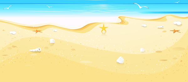 Summer Beach Cover Clip Art Beach Cartoon Beach Photos Waves Cartoon