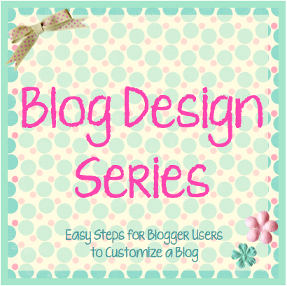 Tutorials on redesigning your blog!!!  These are MAGNIFICENT!!!