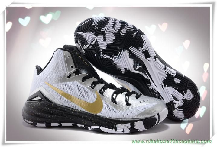 653640 071 white  black  gold nike hyperdunk 2014 for wholesale