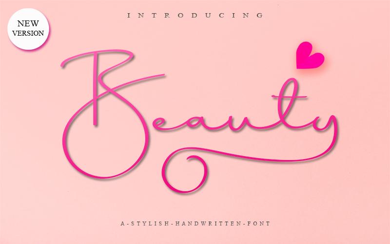 Beauty Dream Font Free script fonts, Cool