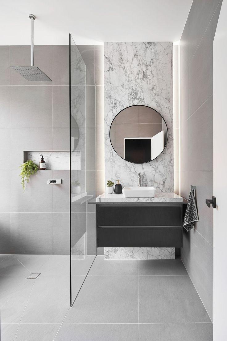 Sophisticated Art Deco Meets Contemporary Inside Jenkins Street Bathroom