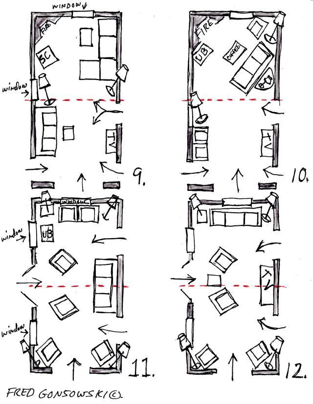 Floorplan Options 3 For Long Narrow Living Room