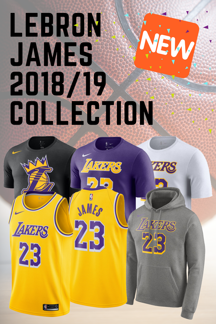 a7b93a82a84 LeBron James #23 The King Los Angeles Lakers Nike 2018/19 NEW Collection is  Here!!! NBA New Season. Nike Jersey, Nike Name & Number T-Shirts, ...
