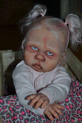 Details About Werewolf Reborn Baby Girl Doll Steampunk Art