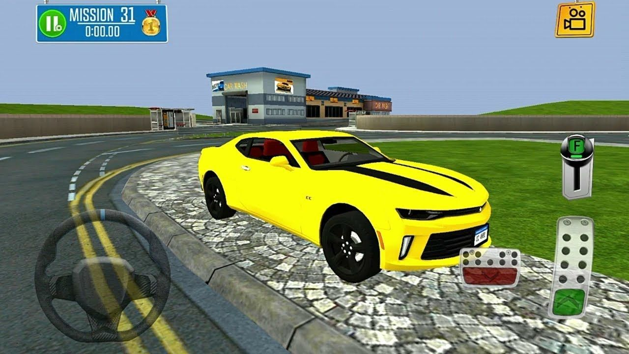 Multi Floor Garage Driver Luxury Car Parking Game 3d Android Gameplay Hd Car Parking Luxury Cars Bmw Car