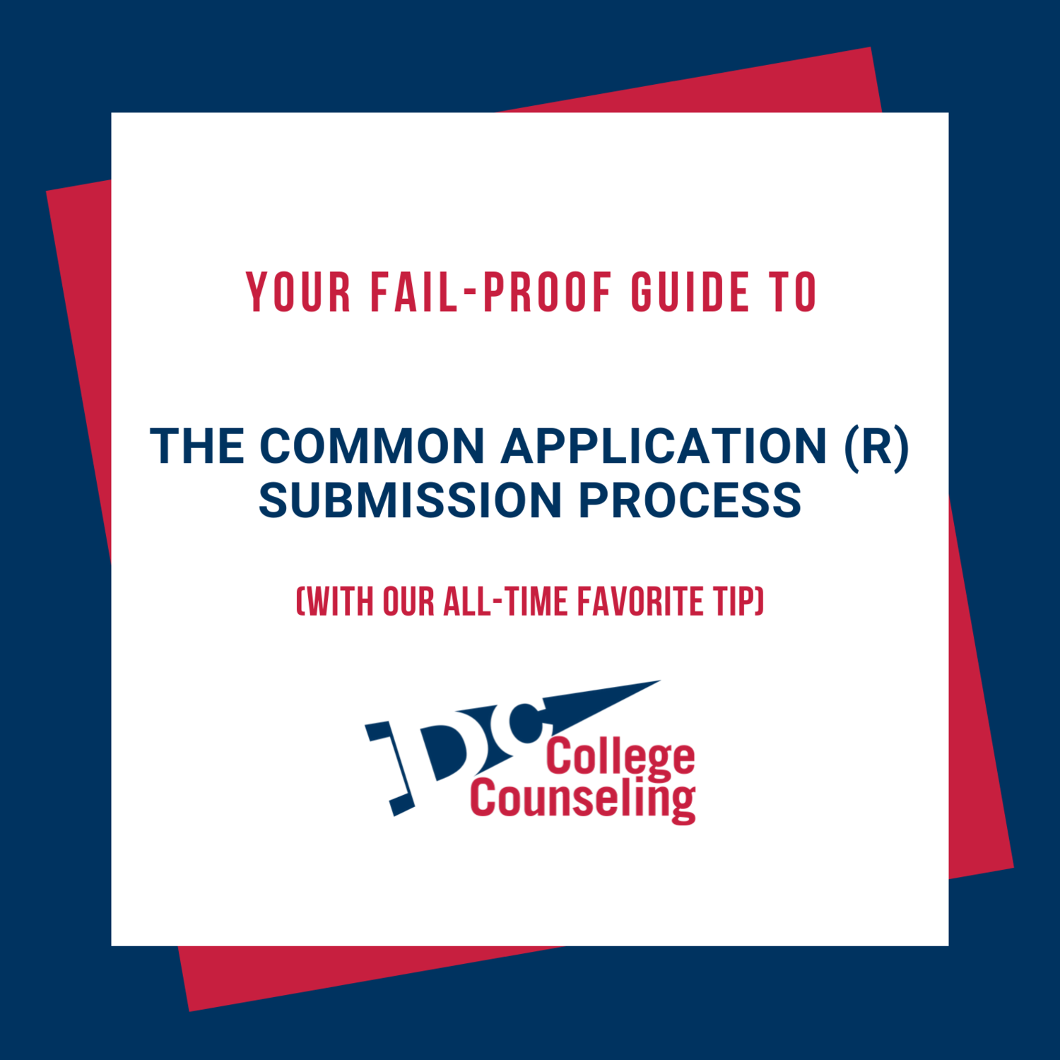Directions for Submitting the 20192020 Common Application