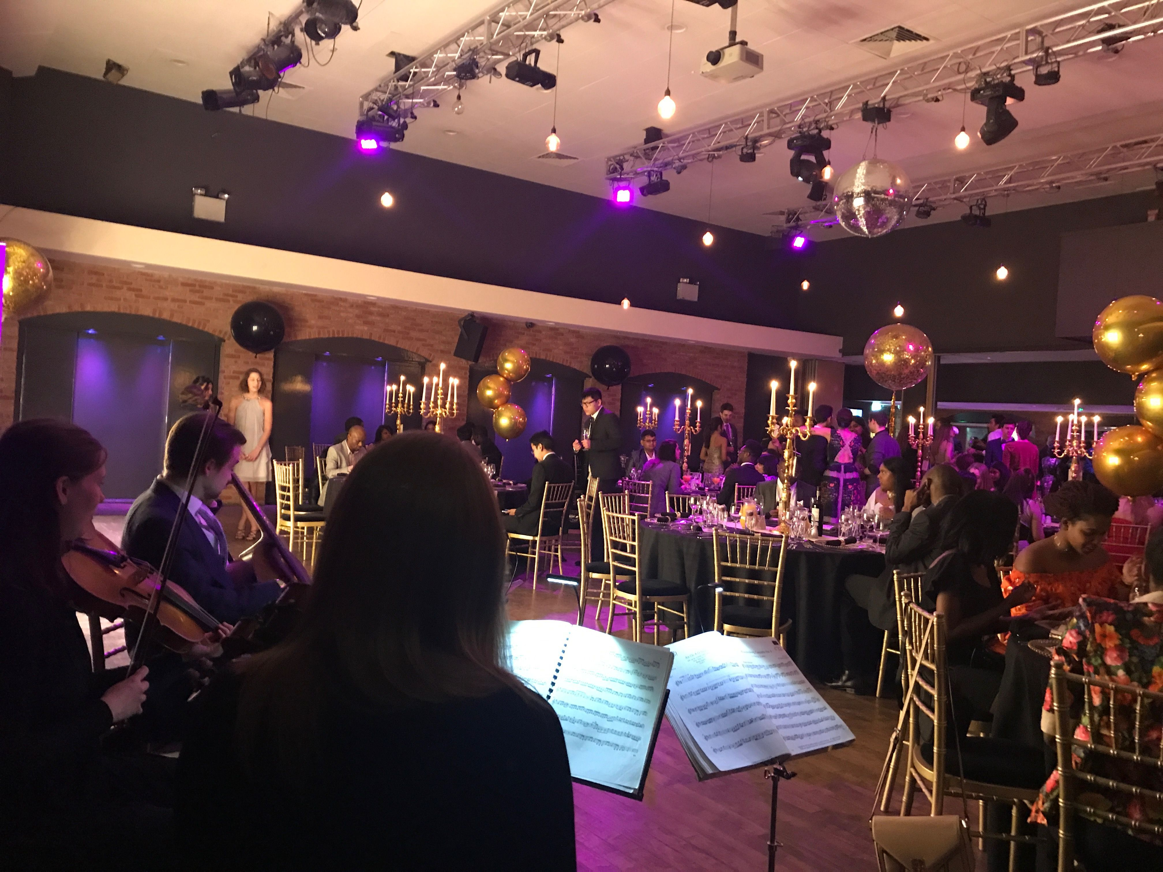 Playing for the lovely people of ISH in 229 The Venue #stringquartet #charitydinner #corporateeventLondon #229portlandplace #livedinnermusic #backgroundmusic