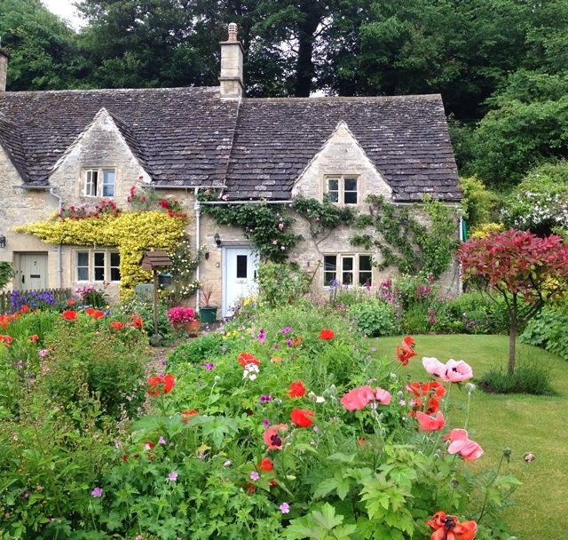 Bibury today and my favourite Cotswold Cottage