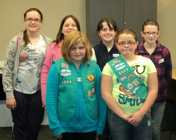 Girlscouts at Biz town
