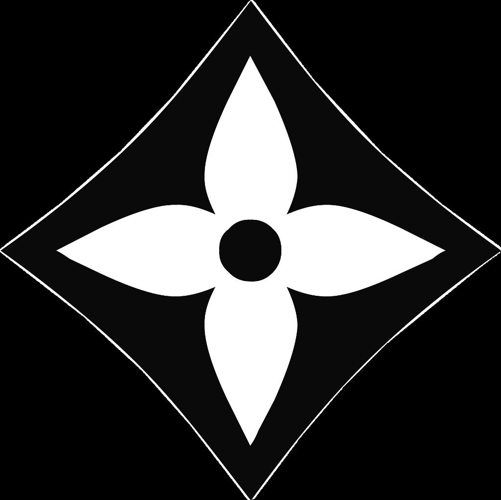 Louis Vuitton Flower Logo 1024x1021 Flower Logo Stencil Logo Logos