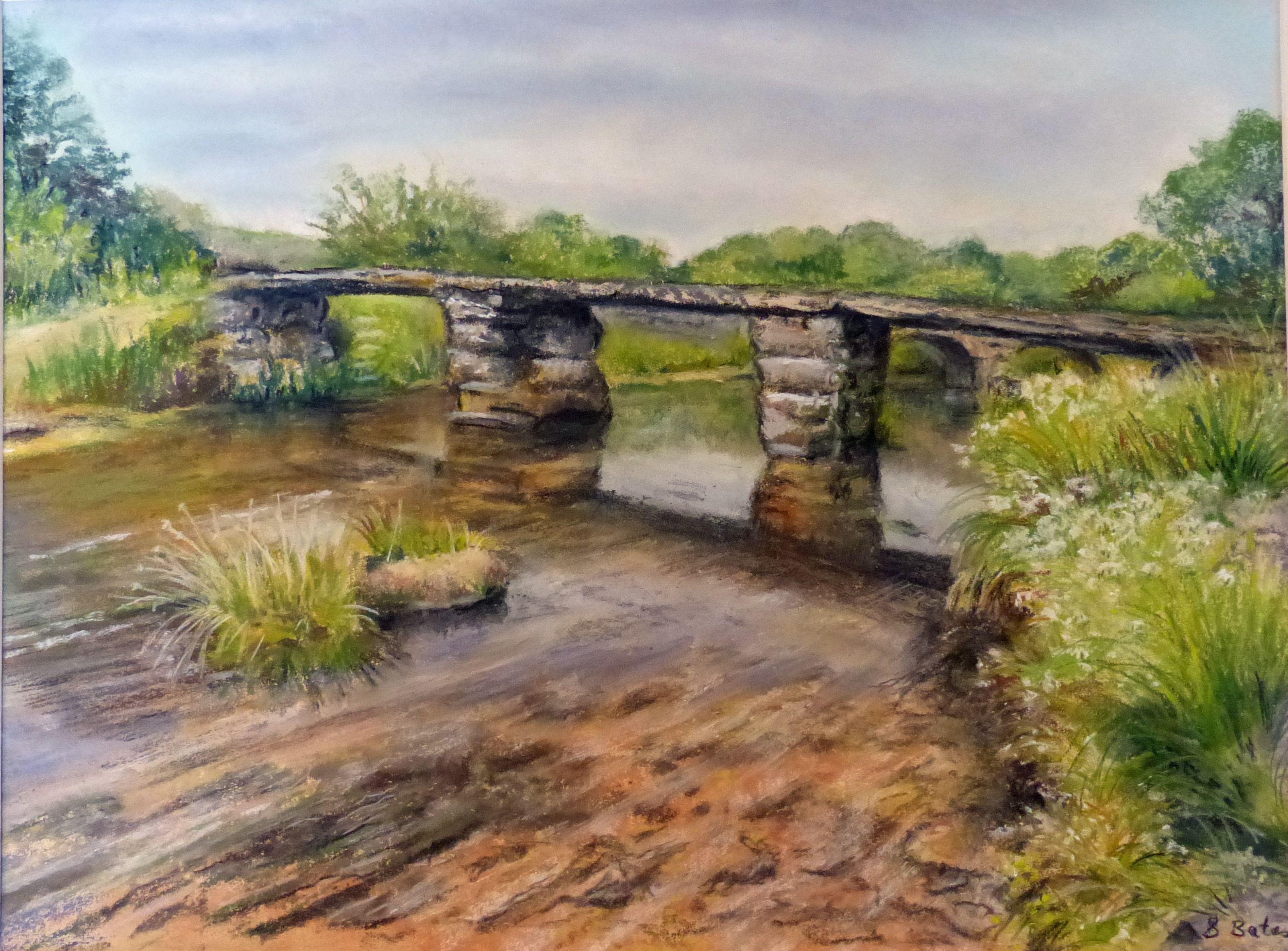 Clapper Bridge - Sue Bates