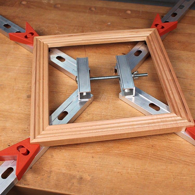 Adjustable Four Corner Frame Clamp Custom Woodworking Woodworking Projects Woodworking Joints