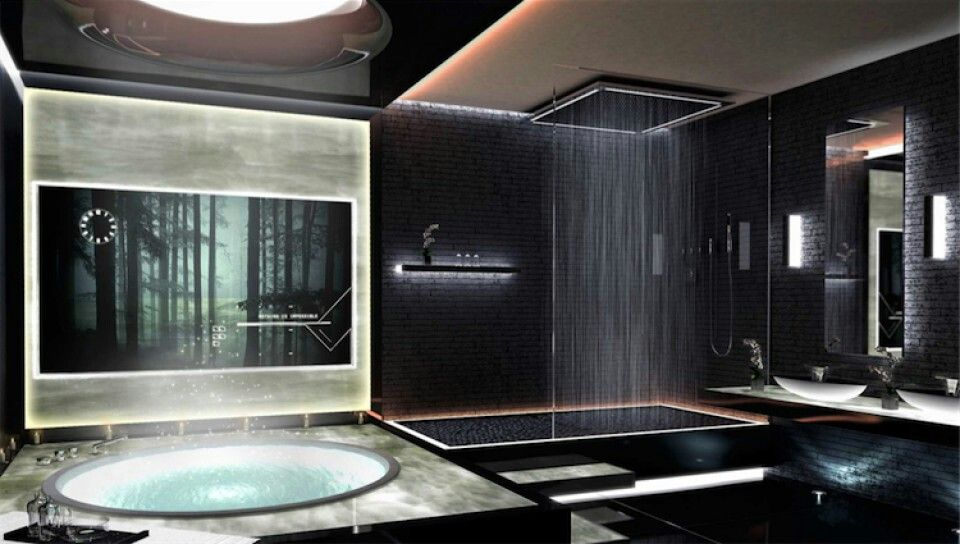 Delighful Black Luxury Bathrooms Bathroom Design In For Decor