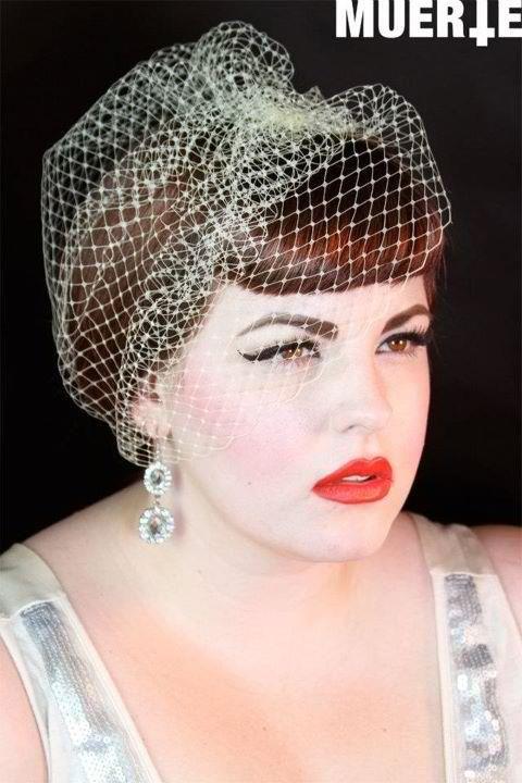 tess munster model modeling for vintage box 1947 photographer hair