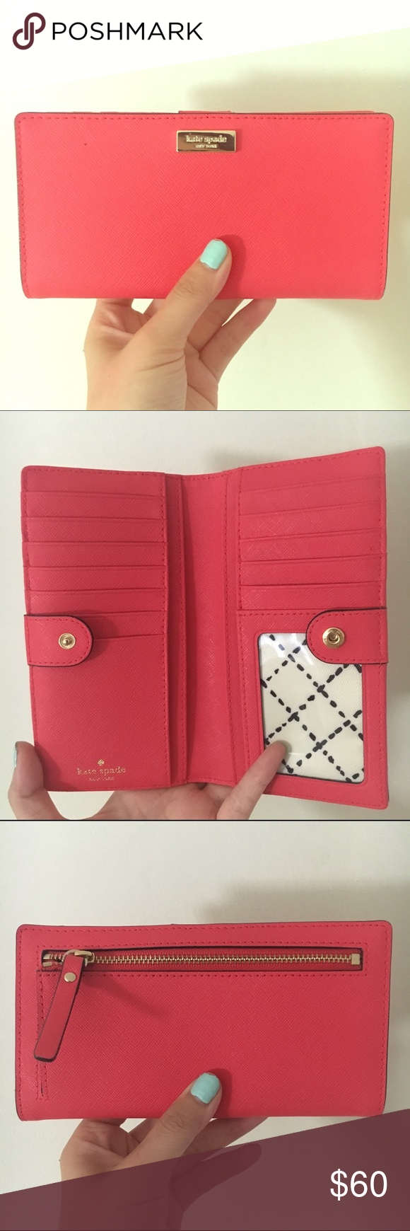 Kate spade: mikas pond stacy PINK LIKE NEW. More magenta. Cute for summer day outing. kate spade Bags Wallets