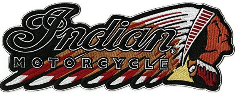 NEW INDIAN MOTORCYCLES Logo MOTOR AUTO Logo embroidered Badge Patch /& Sticker