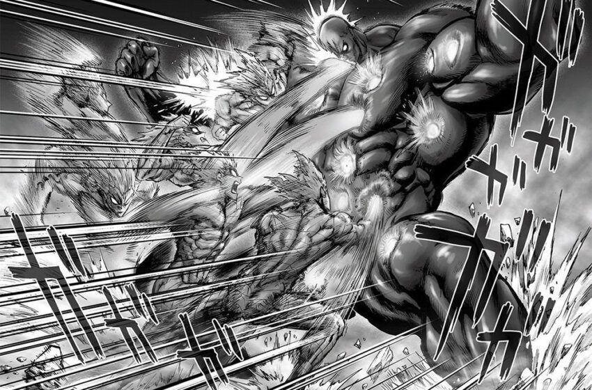 Garou Vs Darkshine Fight Fanimation Art Blipper One Punch Man Manga One Punch Man One Punch