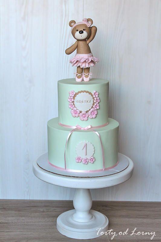 Teddy bear ballerina by lorna cakes cake decorating for Ballerina cake decoration
