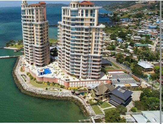 Aerial View Of The The Renaissance Apartments Chaguaramas Trinidad