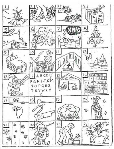 Christmas Rebus Puzzles With Answers.Christmas Rebus Puzzles School Christmas Games