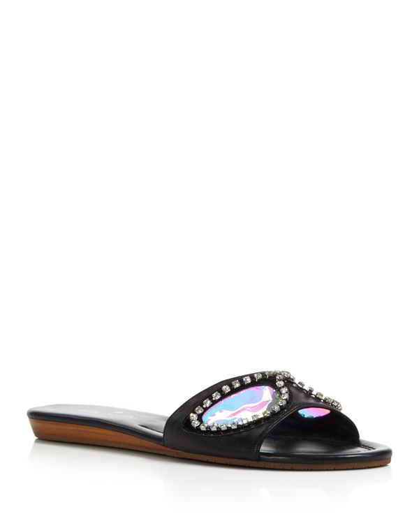 kate spade new york Taleen Too Sunglass Slide Sandals