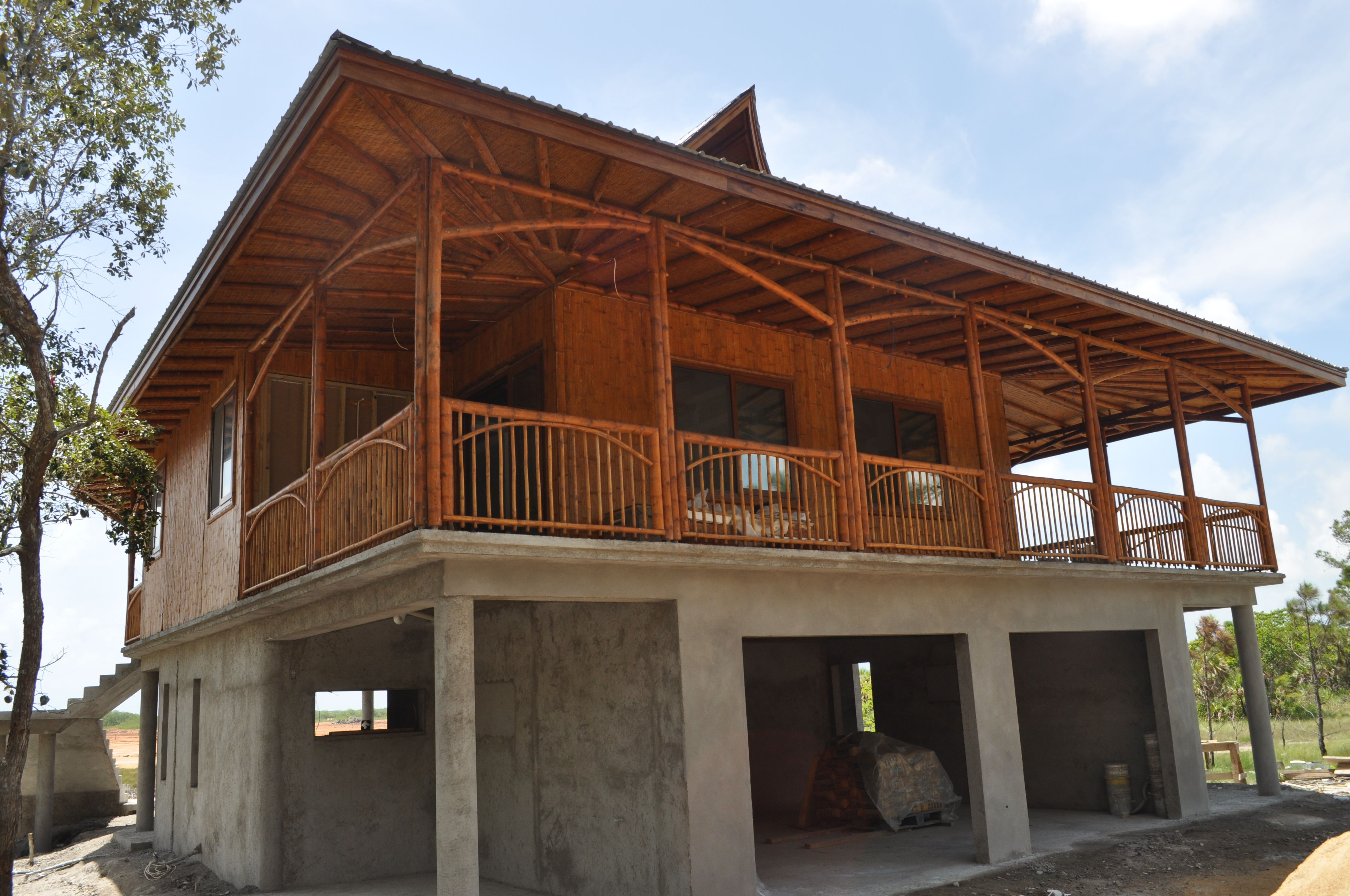 Image Result For Cost Of Bamboo House In Belize Main