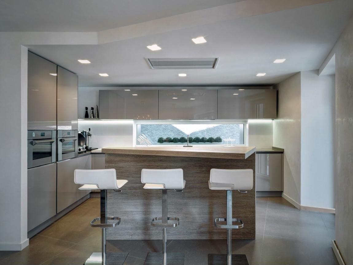 U alakú konyha - konyha / étkező ötletek, modern stílusban ...