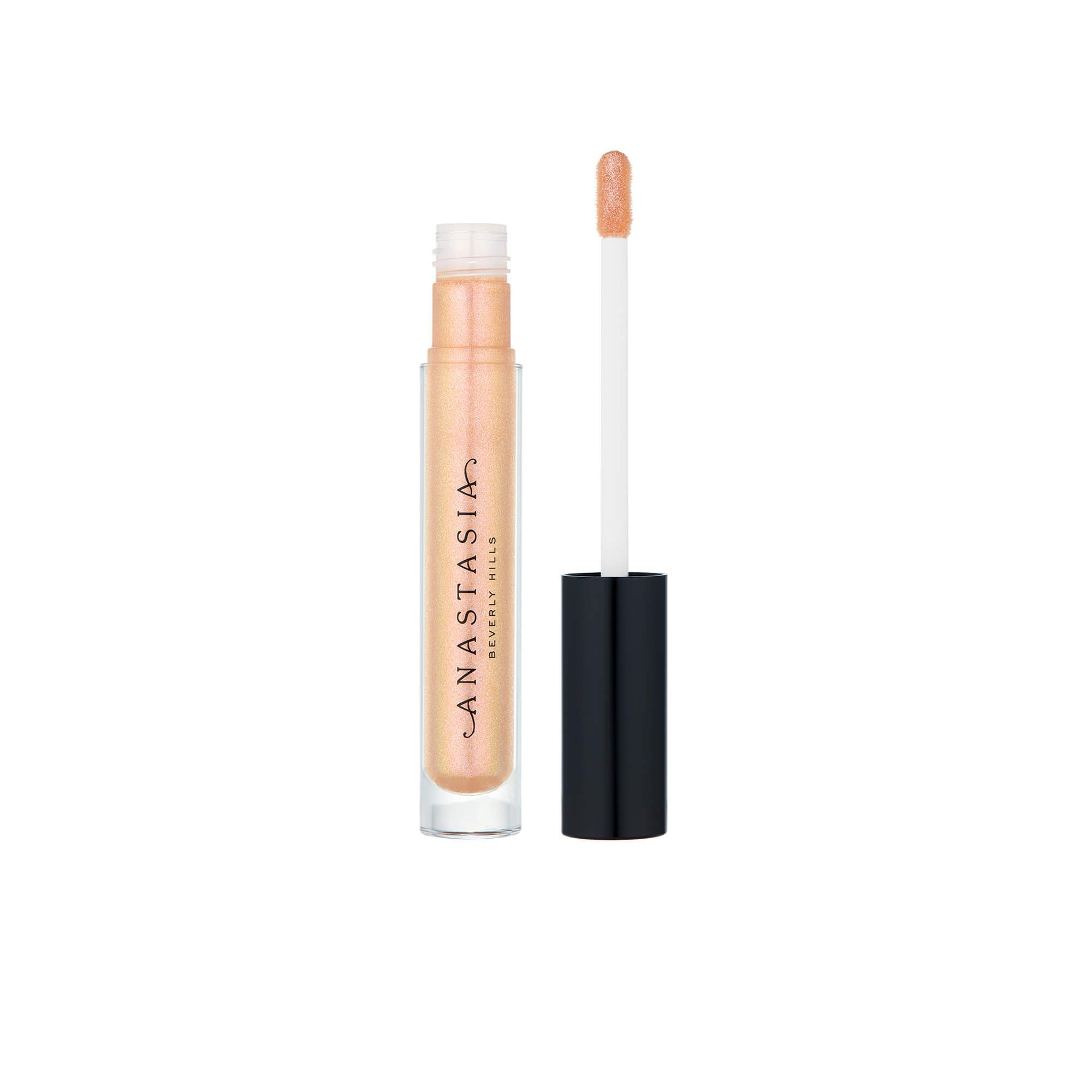 An opaque, high-shine lip color. This vanilla-scented, non-drying formula can be worn alone or