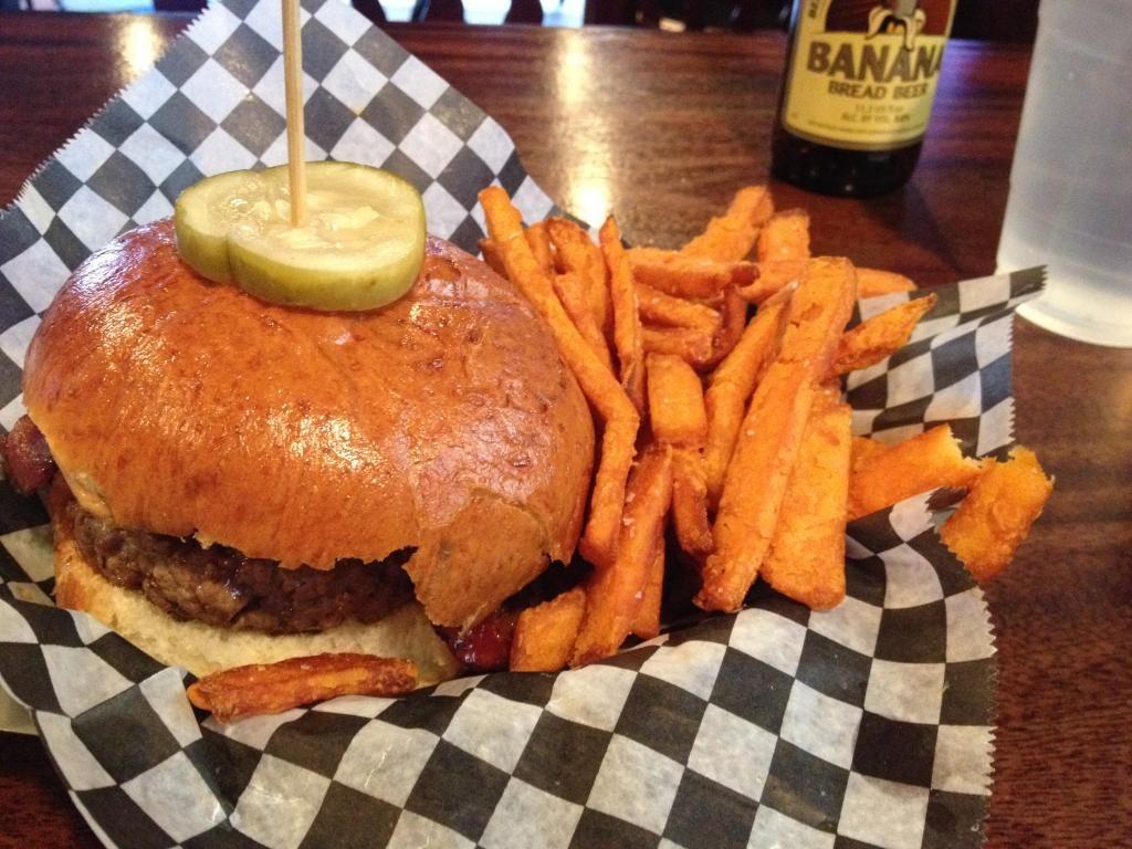 Abbey burger bistro baltimore md burger food