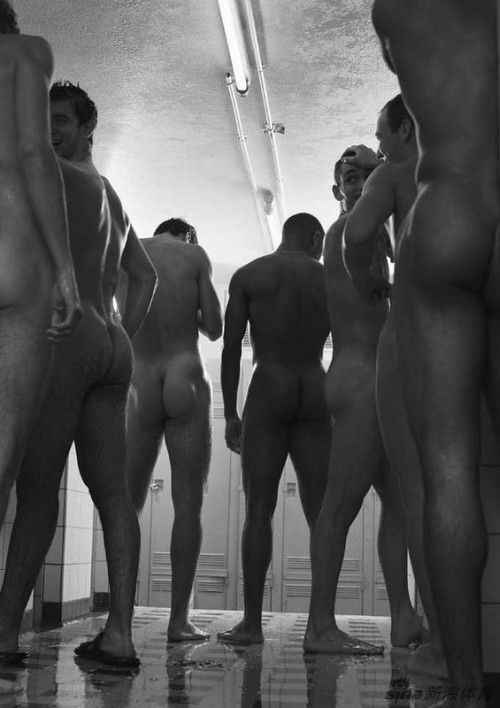 fencing naked French team