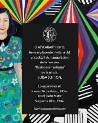 Alvear Art Hotel - Cocktail inauguración Muestra Luisa Sutton