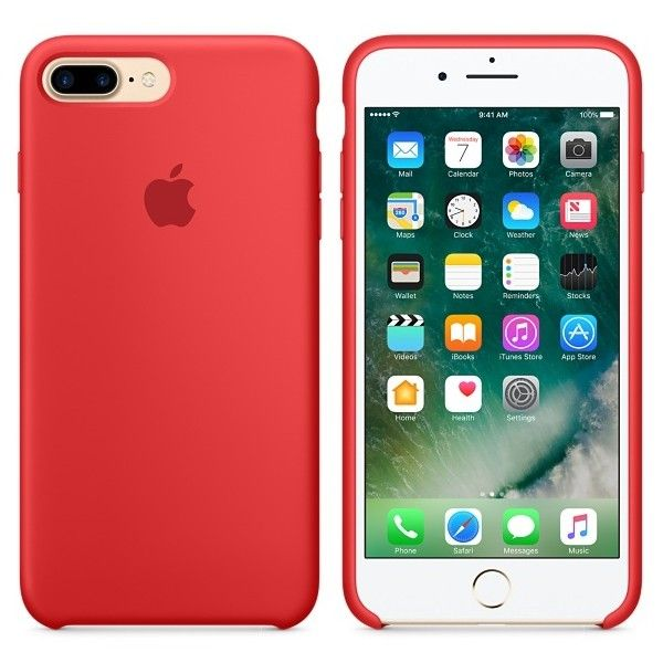 iphone 7 phone cases red silicone