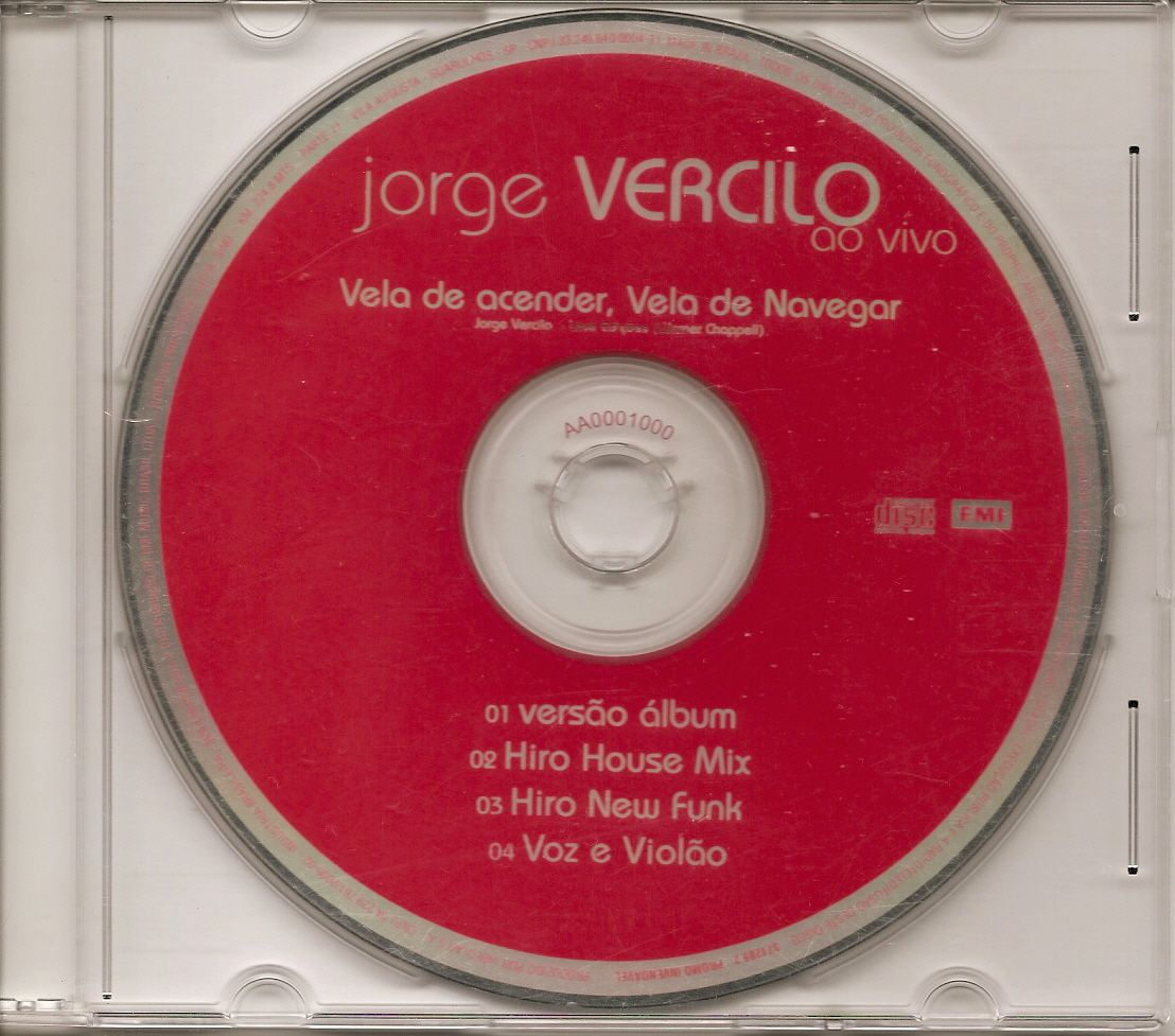 Jorge Vercilo Brazil Promo Remixes R 3 99 U 1 99 Jorge Vercilo Album Funk