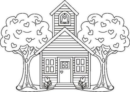 Back to School Coloring Pages Back to school coloring pages
