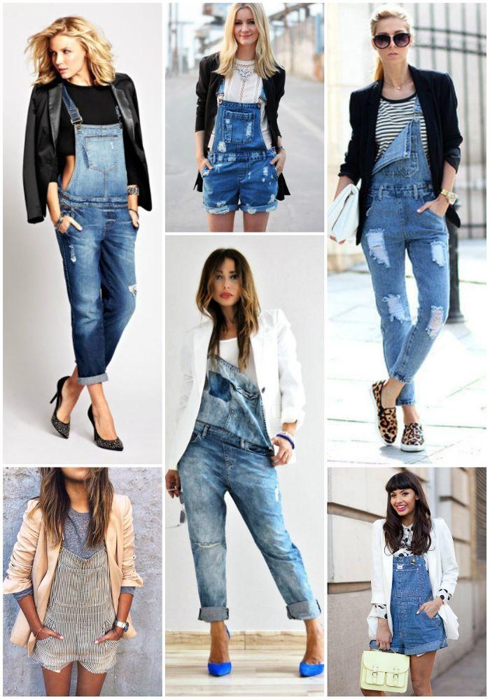 cc3b2db829522a Pin de Heba Fathi em Fashoin em 2019 | Macacão jeans feminino ...
