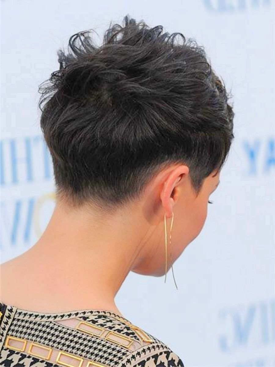 Mens Haircuts Back View Back View Of Short Haircuts Back View Of