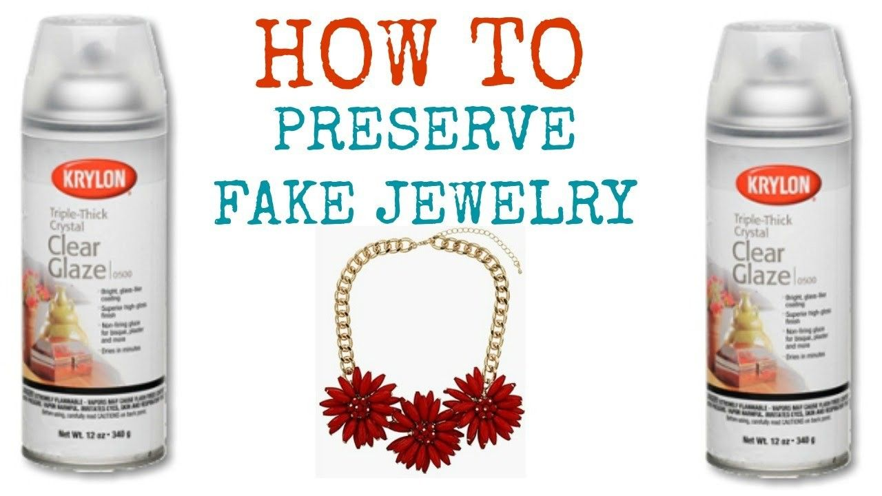 HOW TO Preserve Fake Jewelry - Fake jewelry, Cleaning jewelry, Jewelry hacks, Cleaning silver jewelry, Women's jewelry and accessories, Keep jewelry - So this is how I keep all my necklaces looking good for months and months with no fading or tarnishing  Please give a thumbs up and subscribe!!! See you soon! Vlog Channel     Links to purchase what  How, Jewelry,