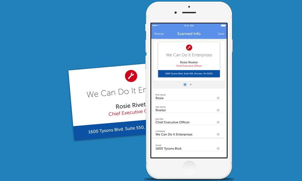 Best Business Card Scanner Apps For Iphone And Android Of 2017