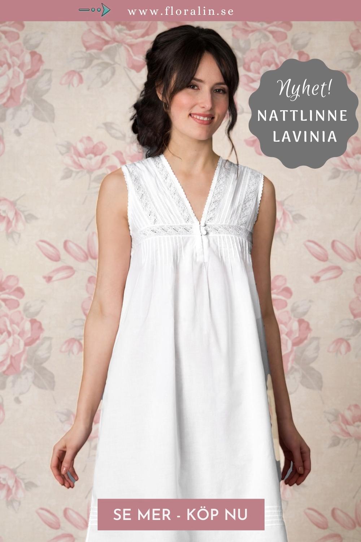 Det skönaste du kan sova i är ett nattlinne i ren bomull från franska Théa. Nyss inkommet online är Nattlinne Lavinia. Skön modell med tråveck, spets och vackra små knappar framtill. Den perfekta presenten till kvinnor i alla åldrar. Se mer i webbshoppen! --> floralin.se #nattlinne #vintagenattlinne #spetsnattlinnen #franskanattlinnen #skönasovplagg #vackranattlinnen #vittnattlinne #vitanattlinnen #sötanattlinnen