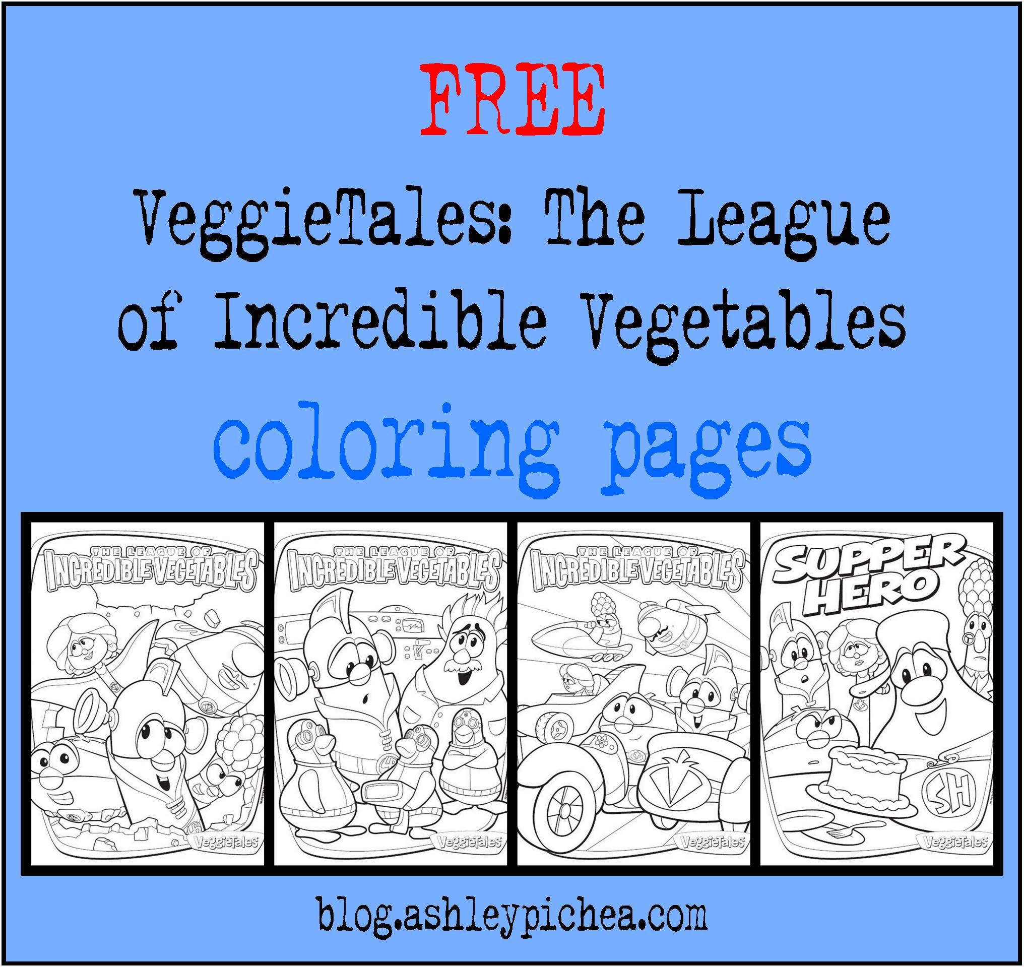 Free coloring pages vegetables - Activities The League Of Incredible Vegetables Free Download Coloring Pages At Http Veggietales Com League Activities Superhero Party Pinterest