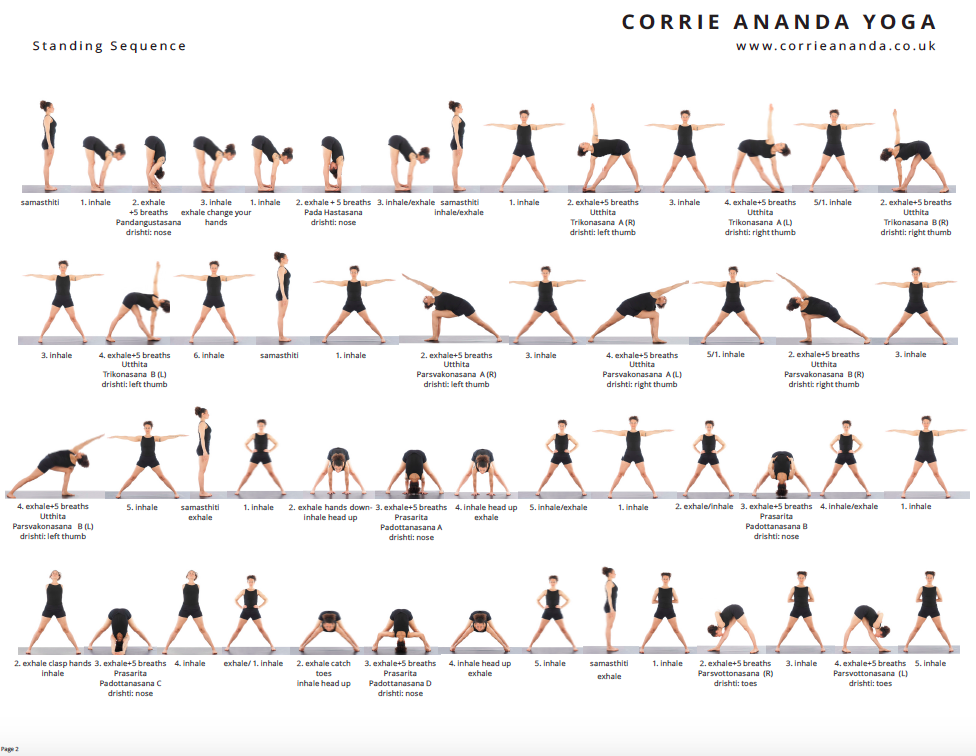 Hatha Yoga Sequence Pdf | Kayayoga co