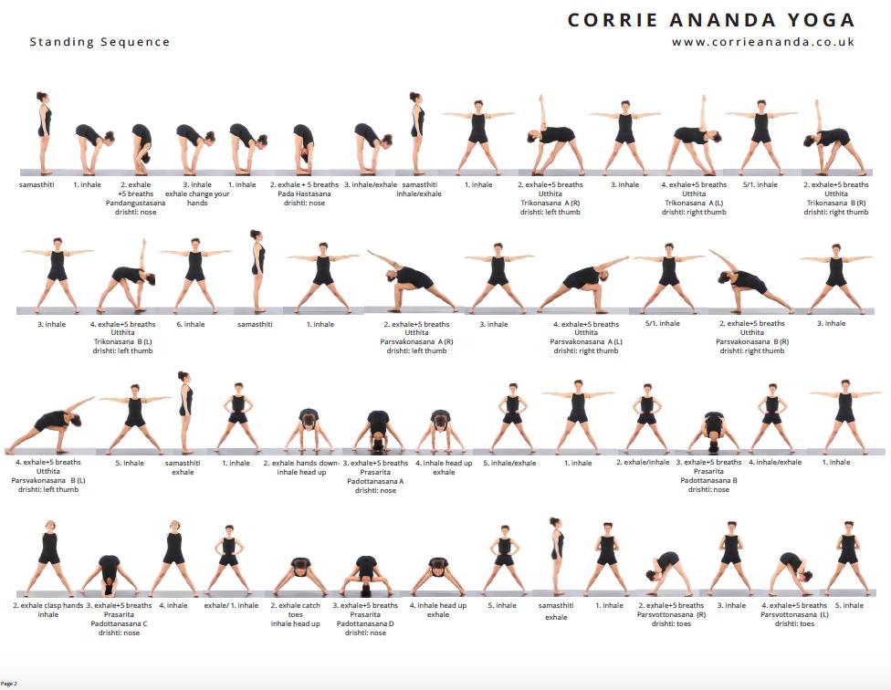 Hatha Yoga Sequence Pdf