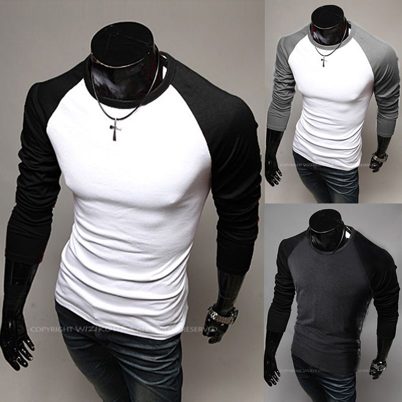 new 2014 the most expensive fashion Mens Long Sleeve