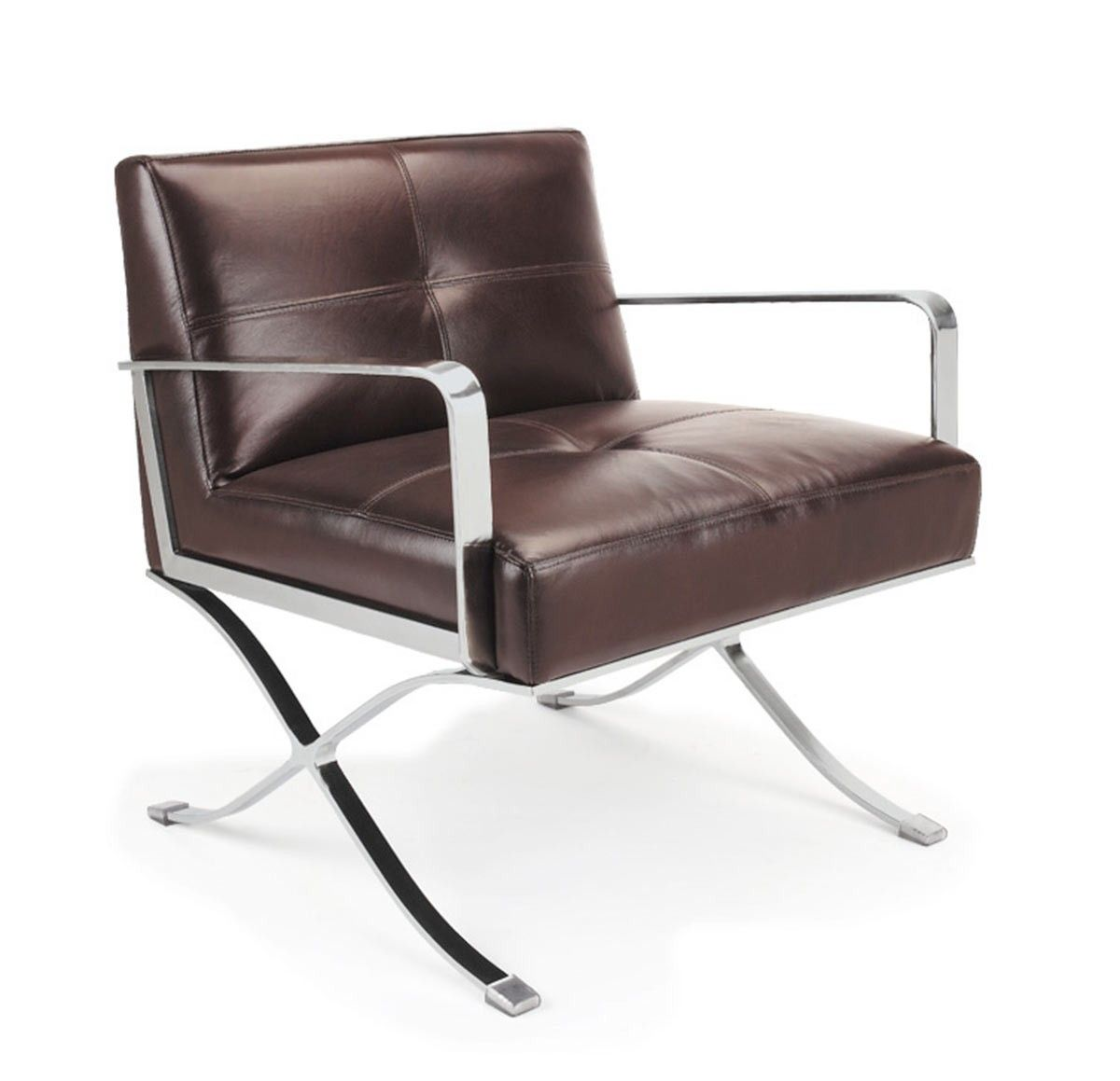 EC011 Modern Leather Lounge Chair Leather lounge Modern and