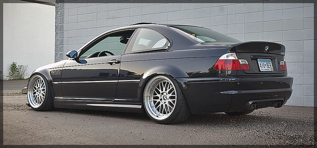 2002 Carbon Black M3 Status Gruppe Tuning Coilovers