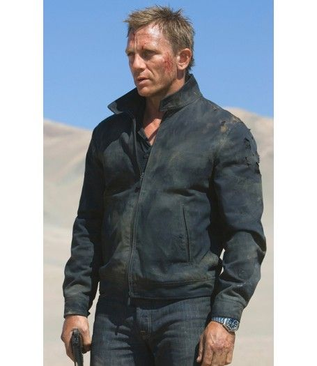 James Bond Jacket Quantum Of Solace Em 2020 Com Imagens James