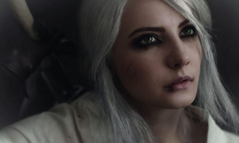 Скачать обои персонаж, Цири, Ведьмак 3: Дикая Охота, Цирилла, The Witcher 3: Wild Hunt, cosplay, косплей, раздел игры в разрешении 800x480