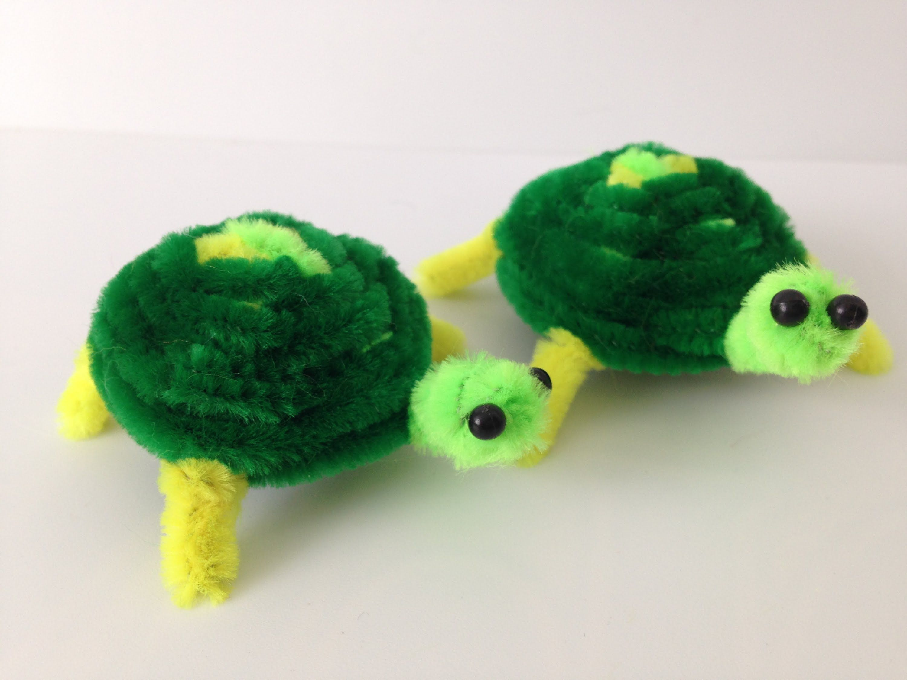 Crafts with Pipe Cleaners | Needle Felted Animals DIY ...