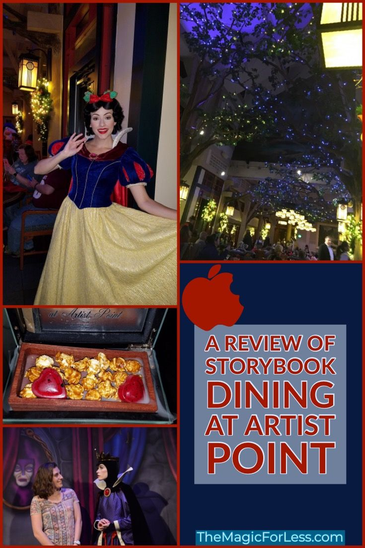 Storybook Dining with Snow White Now Open Walt disney